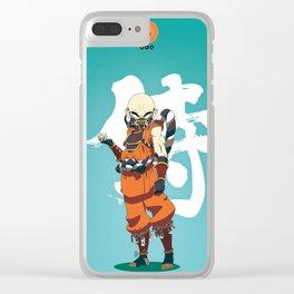 Dragon Ball Bushido : Krilin Clear iPhone Case