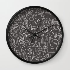 My Brain Won't Stop Wall Clock