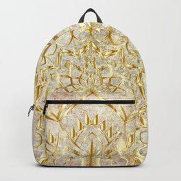 Mandala - Golden Era Backpack