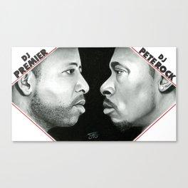 DJ Premier & Pete Rock Canvas Print