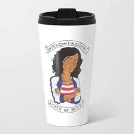 Miss America Chavez - interdimensional kicker of butt Travel Mug