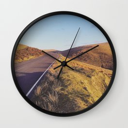 Mountain Road, TT Isle of Man. Wall Clock