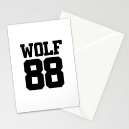 EXO WOLF 88 Stationery Cards