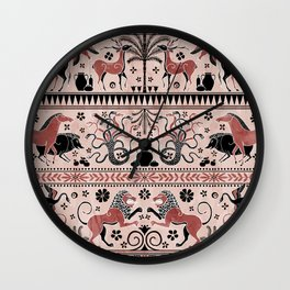 Greek Mythical Beasts Wall Clock