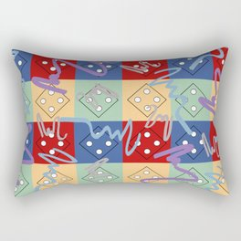 Ludo Rectangular Pillow