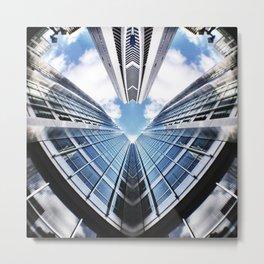 Love Sky High Metal Print