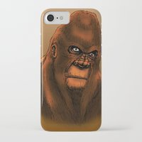 sasquatch iPhone & iPod Cases featuring Sasquatch by Luke Kegley
