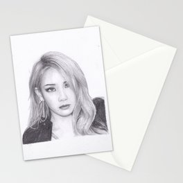 Chaelin Lee CL from 2ne1 Stationery Cards