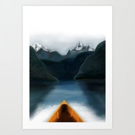 Let's Explore Art Print