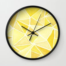 #37. ASHLEY - Triangles Wall Clock