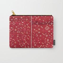 Çal  Antique Turkish Kilim Cover Print Carry-All Pouch