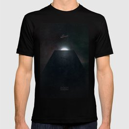 2001 A Space Odyssey alternative movie poster T-shirt