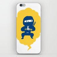 ninja iPhone & iPod Skins featuring Ninja by taichi_k