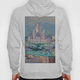 Skyscraper on Kotelnicheskaya Embankment Hoody