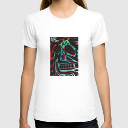 Kal - Abstract expressionism portrait T-shirt