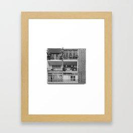 70 Maze st. Tel Aviv Framed Art Print