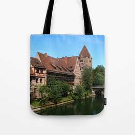At The Pregnitz - Nuremberg Tote Bag