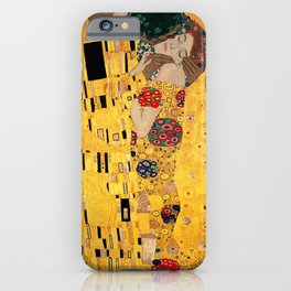 The Kiss - For Interracial Couples iPhone Case