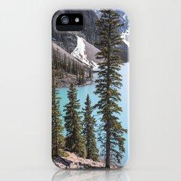 Moraine Lake Vertical Print iPhone Case