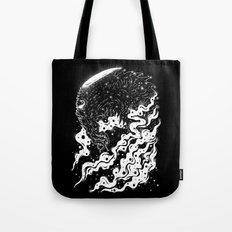 Alien light Tote Bag