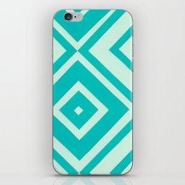 Blue Diamonds iPhone Skin