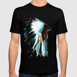 Indian Headdress Native America Illustration T-shirt