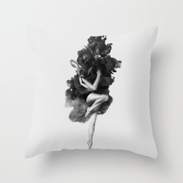 The born of the universe Throw Pillow