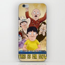 This is Me Now - Bob's Burgers - Gene Quote iPhone Skin