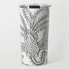 Character Drawing of a Peacock (1862) from Gazette Des Beaux-Arts a French art review Travel Mug