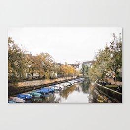 Walking through a Zurich Day Canvas Print