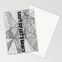 Shut up let's dance Stationery Cards