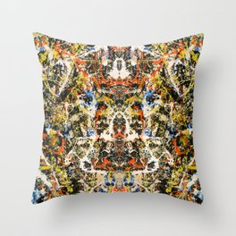 Reflecting Pollock 2 Throw Pillow