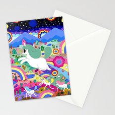 Gary the Farting Unicorn Stationery Cards