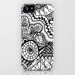 Doodle2 iPhone Case