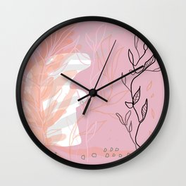 naked garden Wall Clock