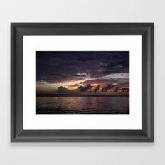 sky delight Framed Art Print