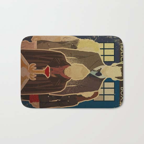 Day of the Doctor Bath Mat