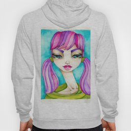 Original Watercolor IIIustration/Eve by JennyMannoArt Hoody