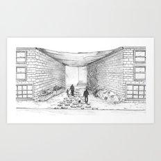 Path home Art Print