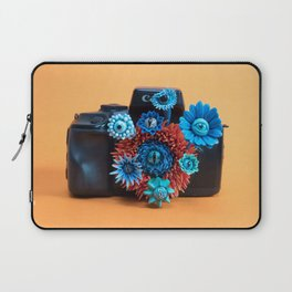 Surveillance Camera | Eyed Flowers Watching | Surrealistic Sculpture by Stephanie Kilgast Laptop Sleeve