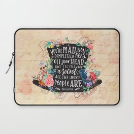 Mad Hatter Laptop Sleeve