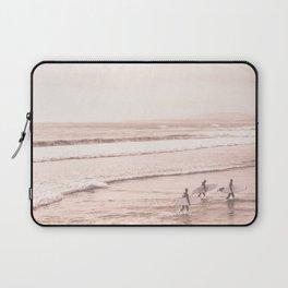 Vintage Sunset Surfing Laptop Sleeve