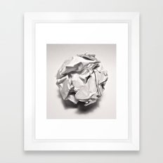 White Trash Framed Art Print