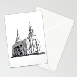 Kansas City LDS Temple Stationery Cards