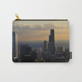 The Skyline at Dusk: From the Hancock (Chicago Architecture Collection) Carry-All Pouch