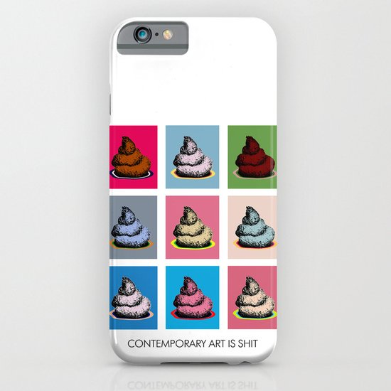 Contemporary art iPhone & iPod Case