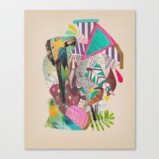 TROPICANA MACAW  Canvas Print