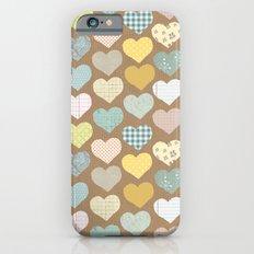 hearts pattern iPhone 6s Slim Case
