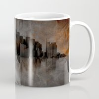 metropolis Mugs featuring Metropolis by Robin Curtiss
