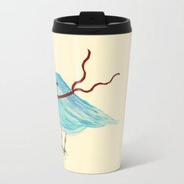 Winter Bluebird  Travel Mug